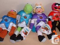 McDonalds Muppets Hockey Player Plush Set    Set of 4