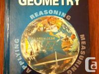 Offering Geometry textbook by Mcdougal Littel.  This