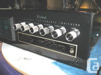 McIntosh MPI-4 Maximum Performance Indicator - Rare?