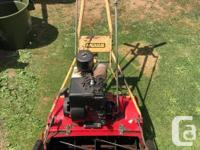 """A nice 20"""" Mclane lawnmower. This is my spare so don't"""