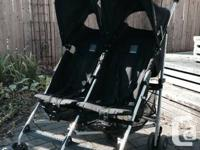 Double McLaren stroller, very compact, ideal for