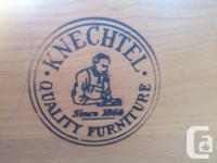 Knechtel furniture company two piece mid century modern