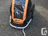 Well used MEC Child Bike Trailer / Stroller. Still in