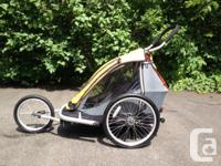 Collapsible MEC Children's Trailer for a bike or just