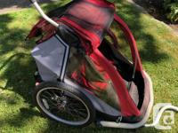 MEC Double Stroller plus Bike Conversion Kit. Kids have