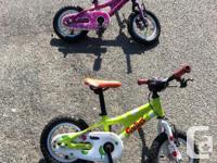 Excellent Condition MEC Ghost Powerkid bikes - one boy