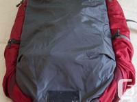 * 40L 2.2kg carry-on size in red and grey. * full