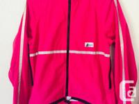 Like new Mec cycling jackets. The pink one is size xs