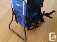 Lightweight sturdy aluminum frame backpack for bringing