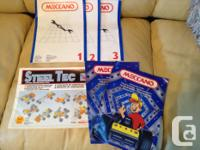 MECCANO set with a lot of parts and pieces to create