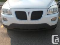 Make Pontiac Model Montana SV6 Year 2005 Colour White