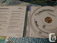 - Meditation, Music for Relaxation, Brand New $ 10 -