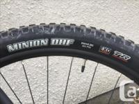 "-Size Medium -29"" Wheels (Rear Tire: Minion DHR II"
