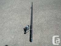 Medium Action Spinning Rod & Eagle Claw Spinning Reel.