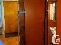"""Medium-brown Billy Bookcase, 79 1/2"""" H x 31 1/2"""" W x"""
