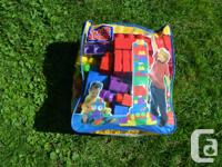 Large bag of mega blocks great condition Contact