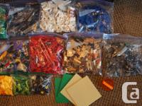 Huge tub of pieces weighing around 20 lbs. I've done my