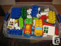Over 500 pieces of Mega Blocks **EXCELLENT CONDITION**