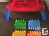 Totally portable building table for Mega Bloks. Blocks