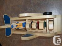 Kids' imagination will fly away with this wooden