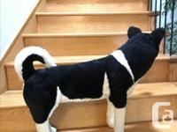 Melissa & Doug Giant Siberian Husky - Lifelike Stuffed