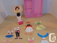Melissa & Doug Nina Ballerina 26 pc Magnetic Doll Set