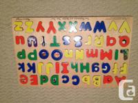 For sale - Melissa & Doug children's games and puzzles.