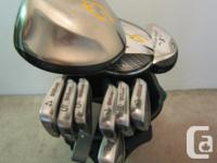 This set is in very nice condition. All clubs, with the