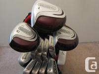 This set is in very nice used condition. All clubs have