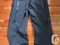 Brand New, never used pair of Mens Large Arcteryx Sabre for sale  British Columbia