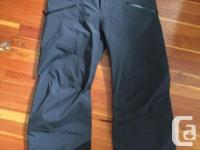 Used, Brand New, never used pair of Mens Large Arcteryx Sabre for sale  British Columbia