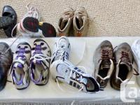 Men's quality like new shoes hiking/sandals/casual see