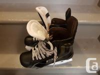 2016 model Bauer Supreme 180 senior skates bought this