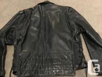 Lots of wear left in this classic vintage black leather