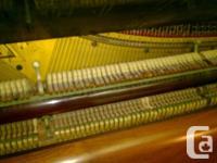 "Mendelssohn Upright, 6822: 50"" Upright, Cherry Wood,"