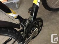 1-Dunlop 21 speed aluminum frame bicycle. This unit has