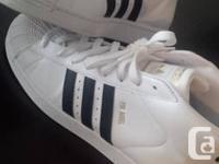 brand new never worn sneakers, super fresh white