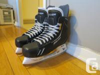 I'm selling a pair of mens Bauer One.6 skates. They are