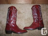 Men's fancy dress cowboy boots Made in Spain size 9