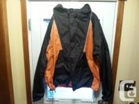 For Sale Mens Harley Davidson rain suit size 2XL, nice