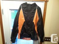For Sale Mens Harley Davidson rain suit size Small,