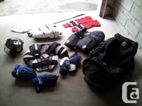 I have great hockey equipment for a beginner -