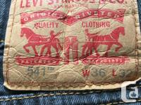 Men's Levi's 541 athletic fit jeans. Purchased from the