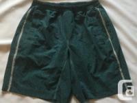 Mens lululemon Response Shorts in size large.
