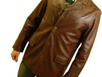 New guys's leather jacket. Size Tool.  Straight from