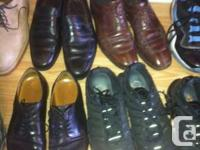 Dress Shoe Covers: size 11 30$ Used for 1 winter. Hush