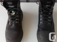 """Lightly used 6"""" Steel Toe Boots / Shoes  Product"""