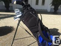 Set of Wilson vector V9 golf clubs in good condition.