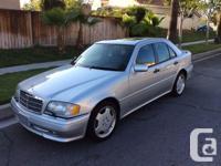 Make Mercedes-Benz Model C Year 1996 Colour silver