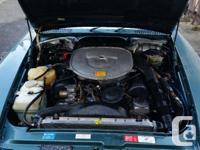 Make Mercedes-Benz Model 560SL Year 1988 Colour Green